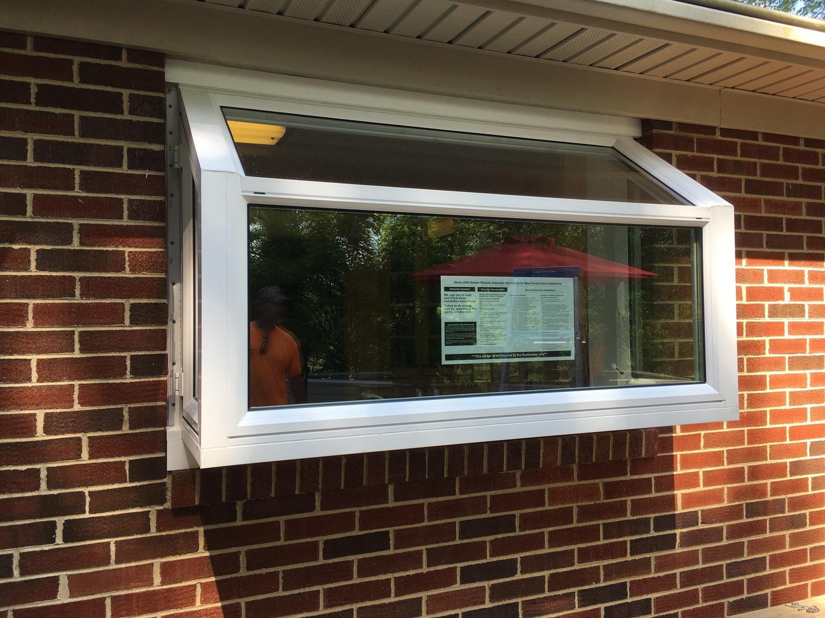 Garden Window Exterior View