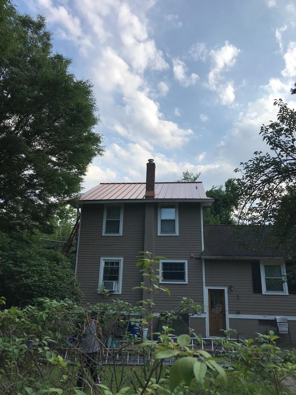 Standing Seam Metal Roof Install with Custom Flashing