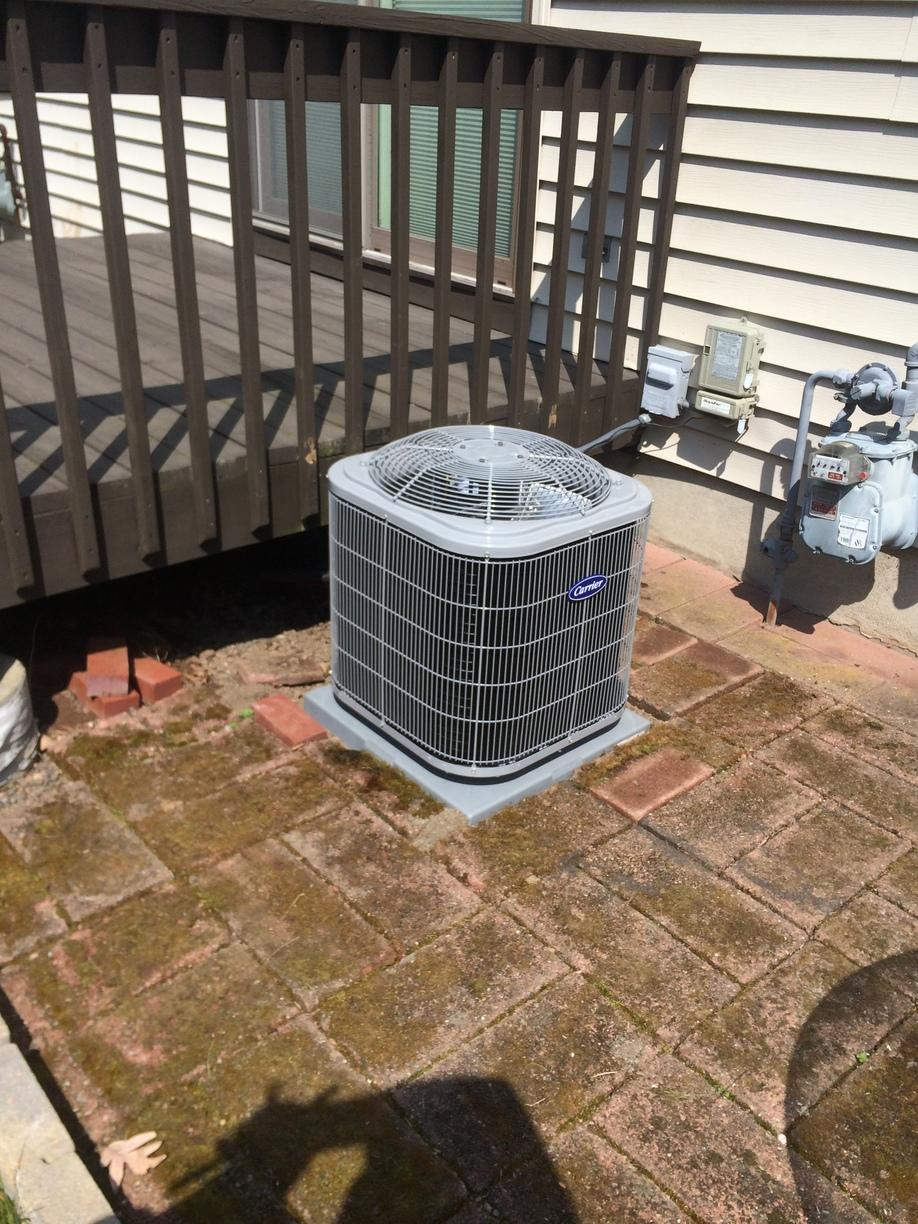 AC installation done for our customer in East Haven!