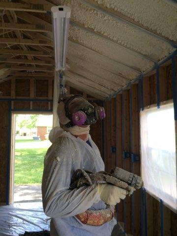 Installing Closed Cell Spray Foam