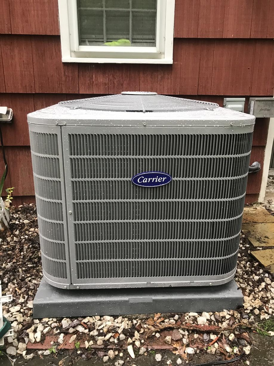 Central AC replacement for our customer in Stamford, CT!