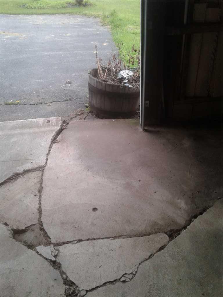 Before Concrete Repair