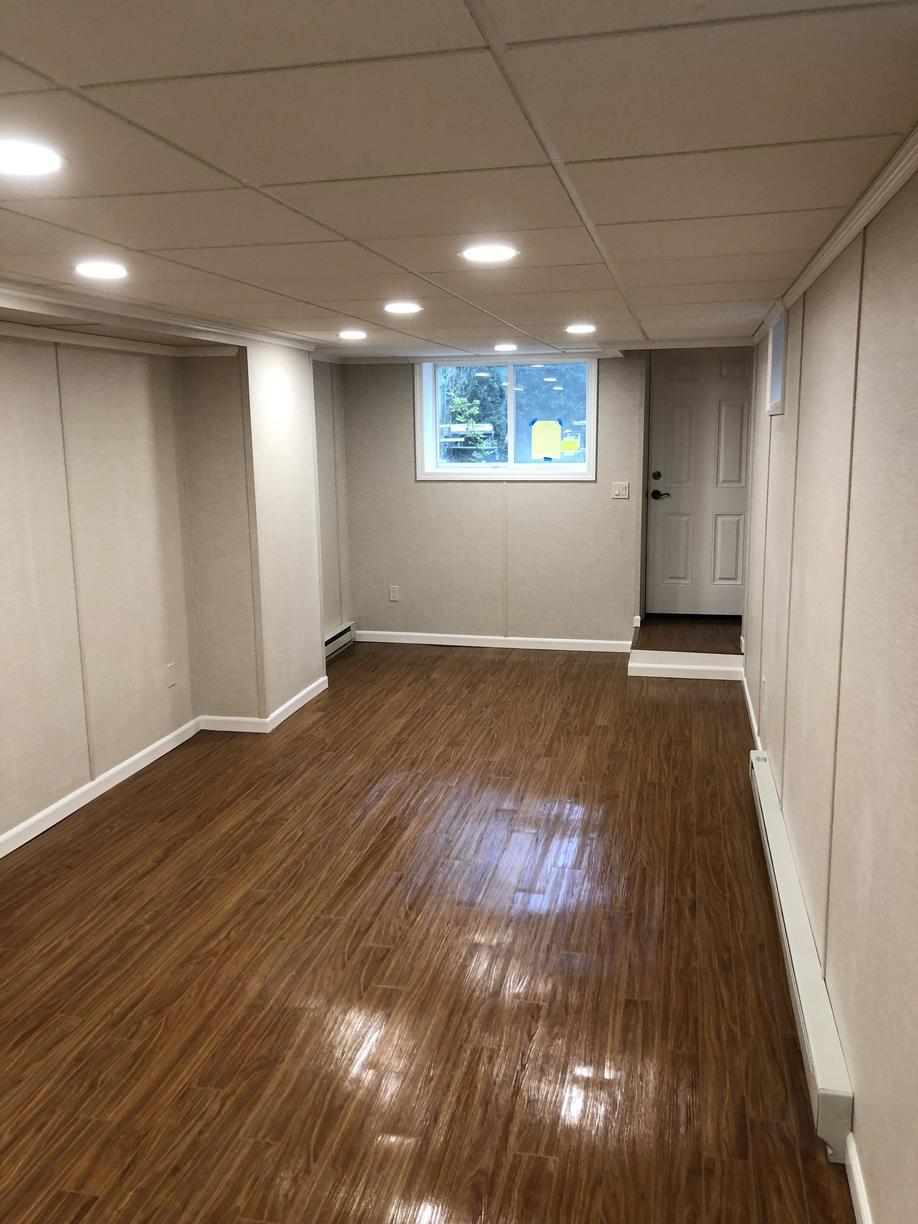 Walls and Floors Completely Transformed!