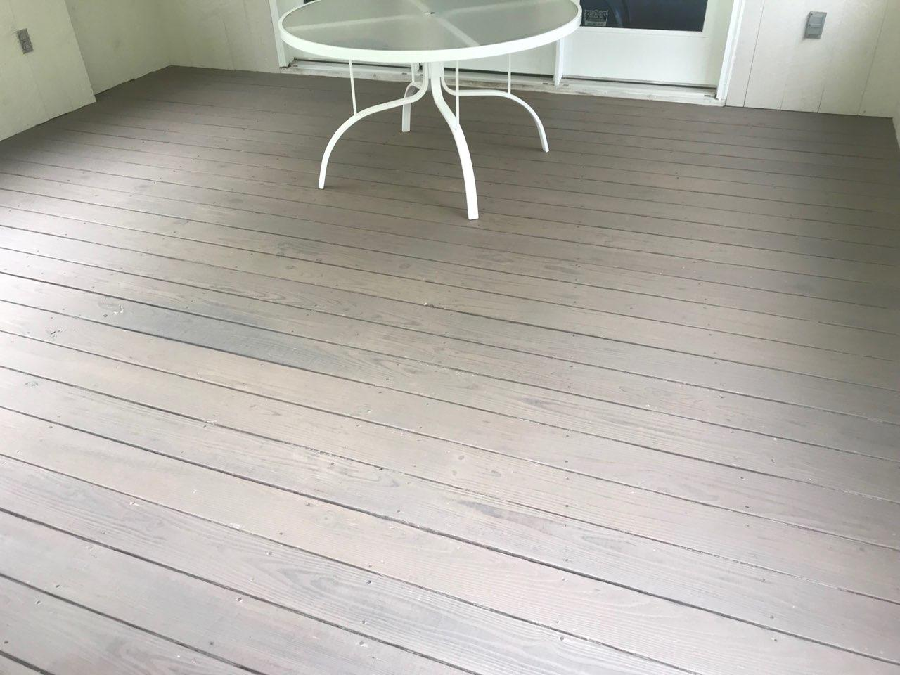 Finished Deck Staining in Brookfield, CT