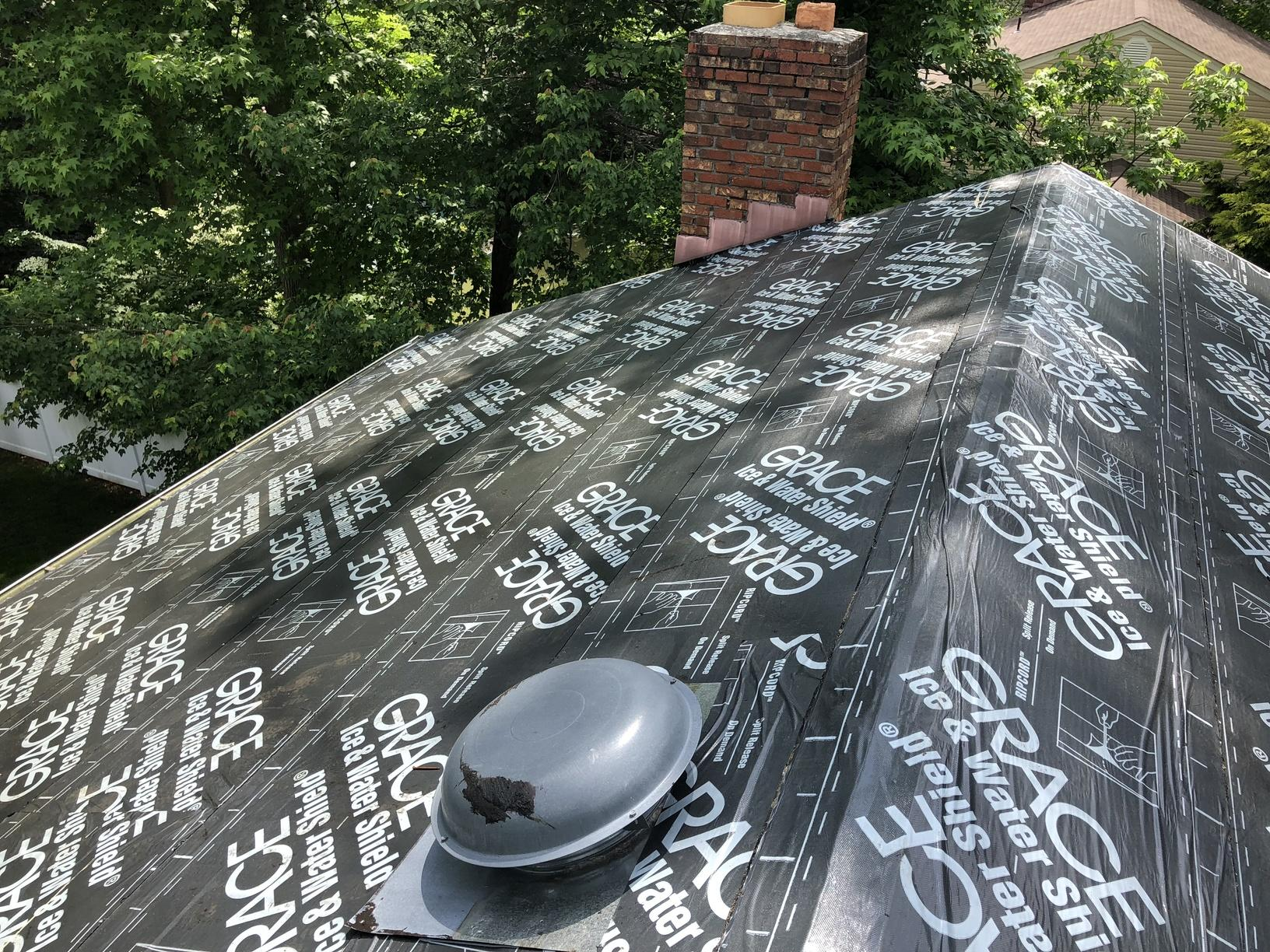 Installing Underlayment Under Metal Roof