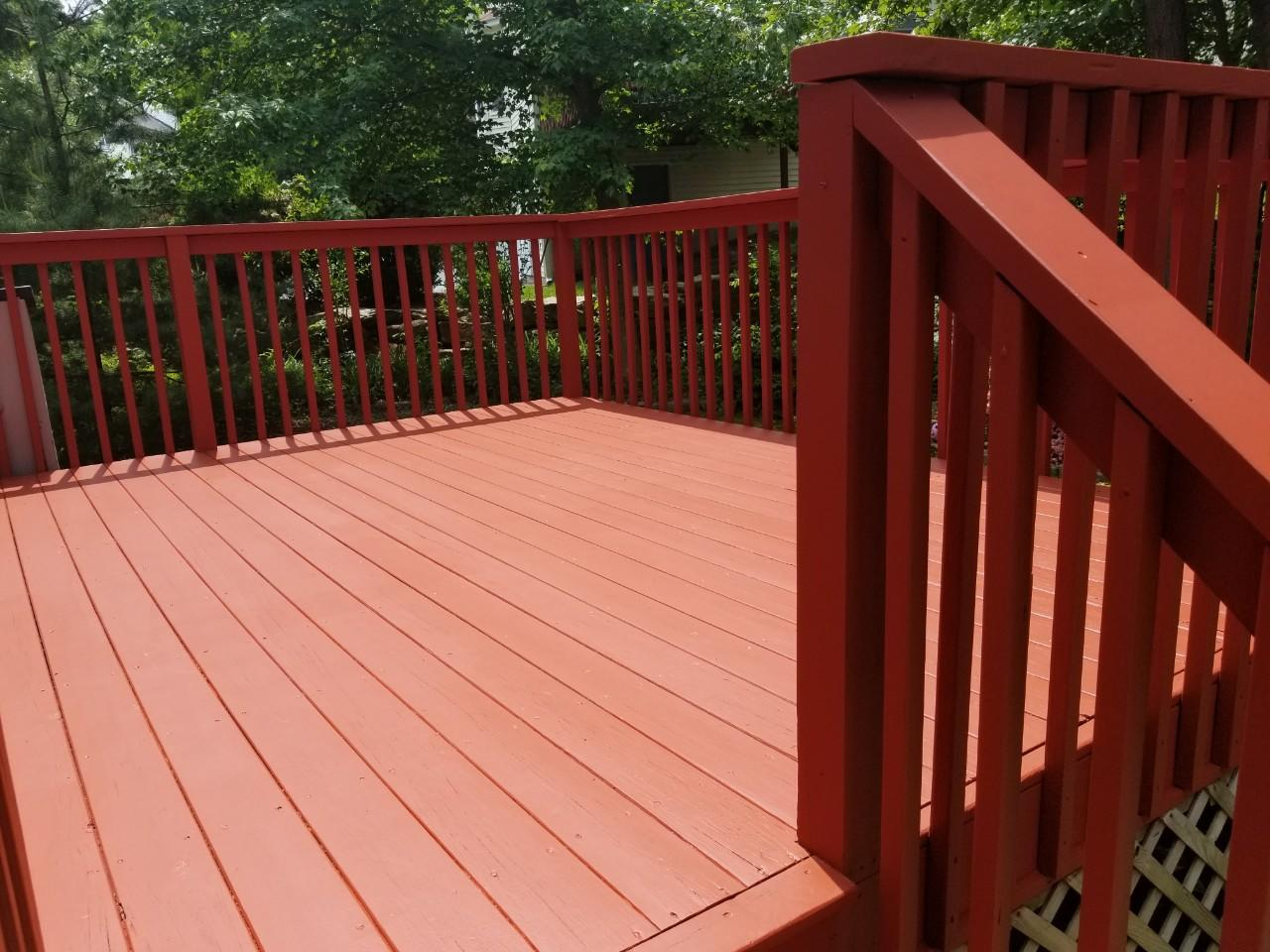 Power Washing and Deck Staining in Botsford, CT