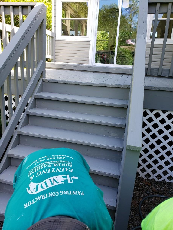 Deck Painting in Darien, CT