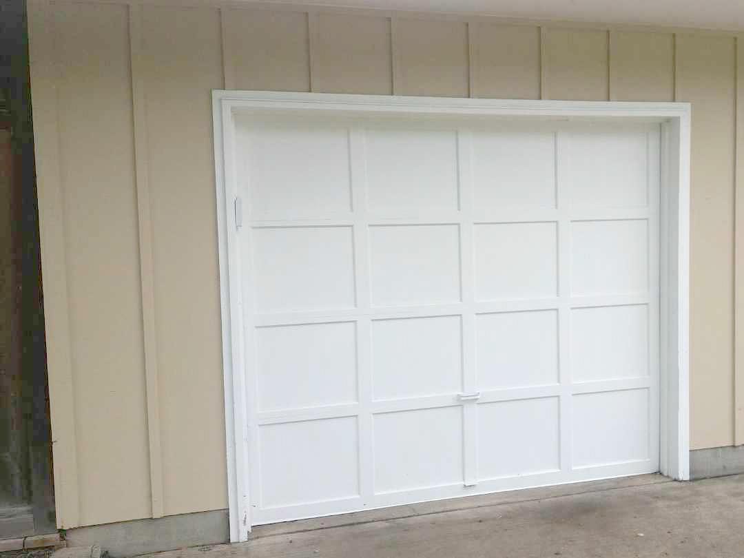 Garage Doors Painted