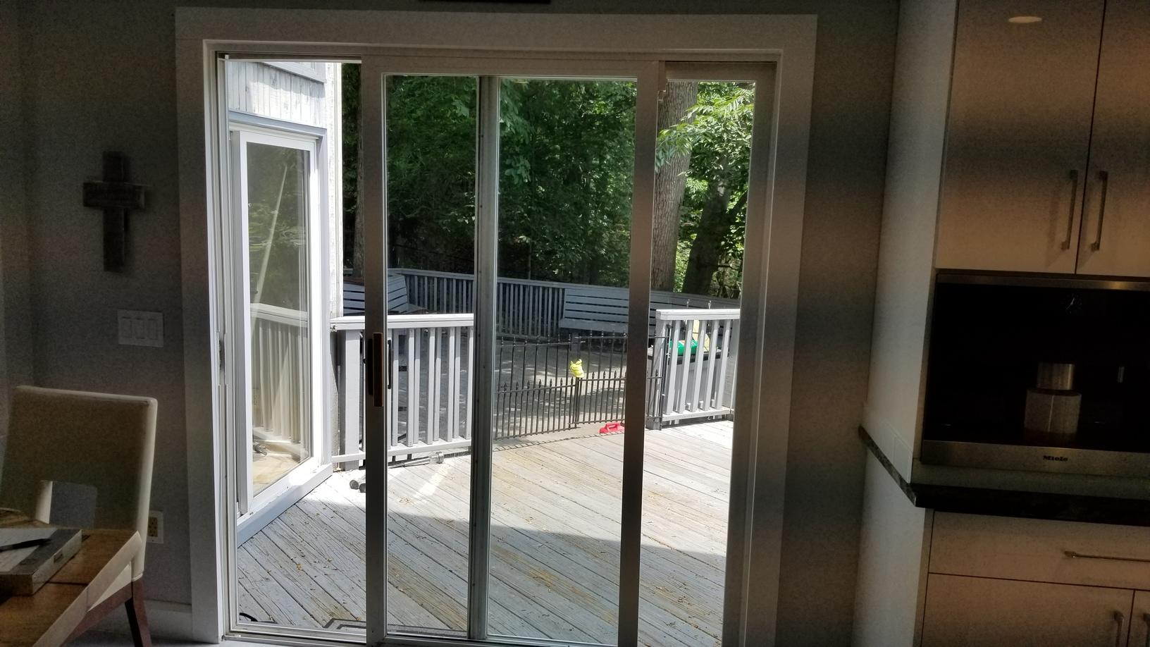 Before Photo of Patio Door Replacement in North Caldwell, NJ
