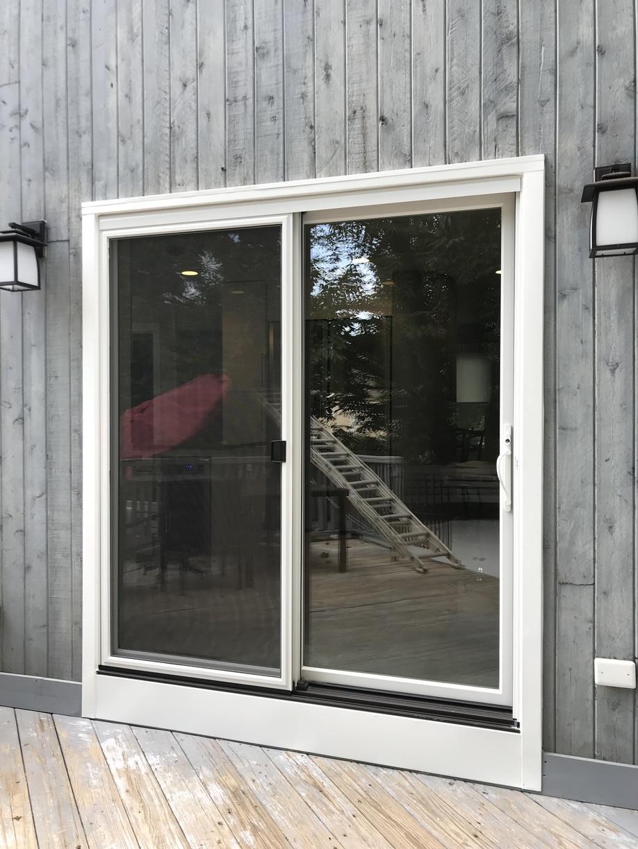 Exterior View of new Infinity Sliding Patio Door