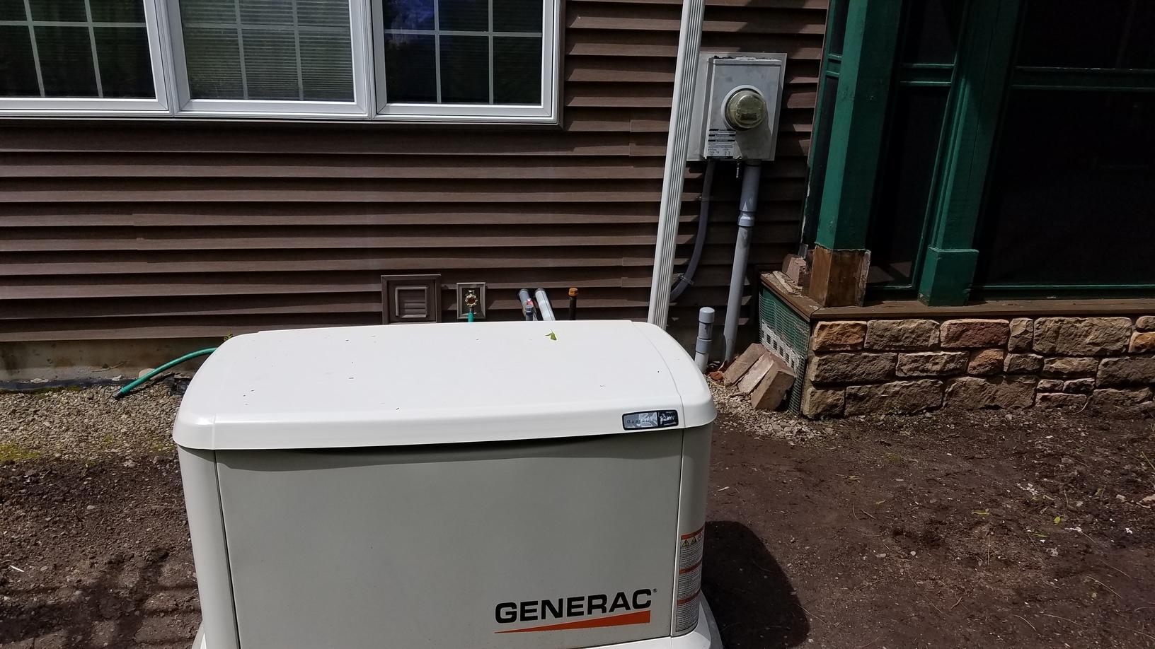 Generator & Gas Meter