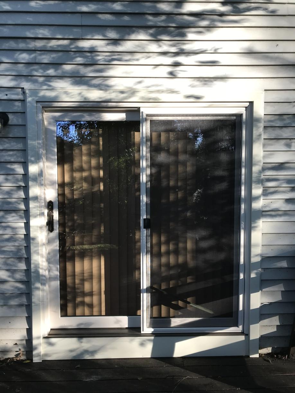 Exterior of Vinyl Sliding Patio Door