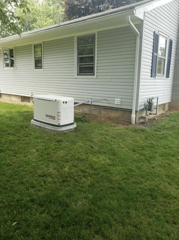 Newly Installed Generac Generator