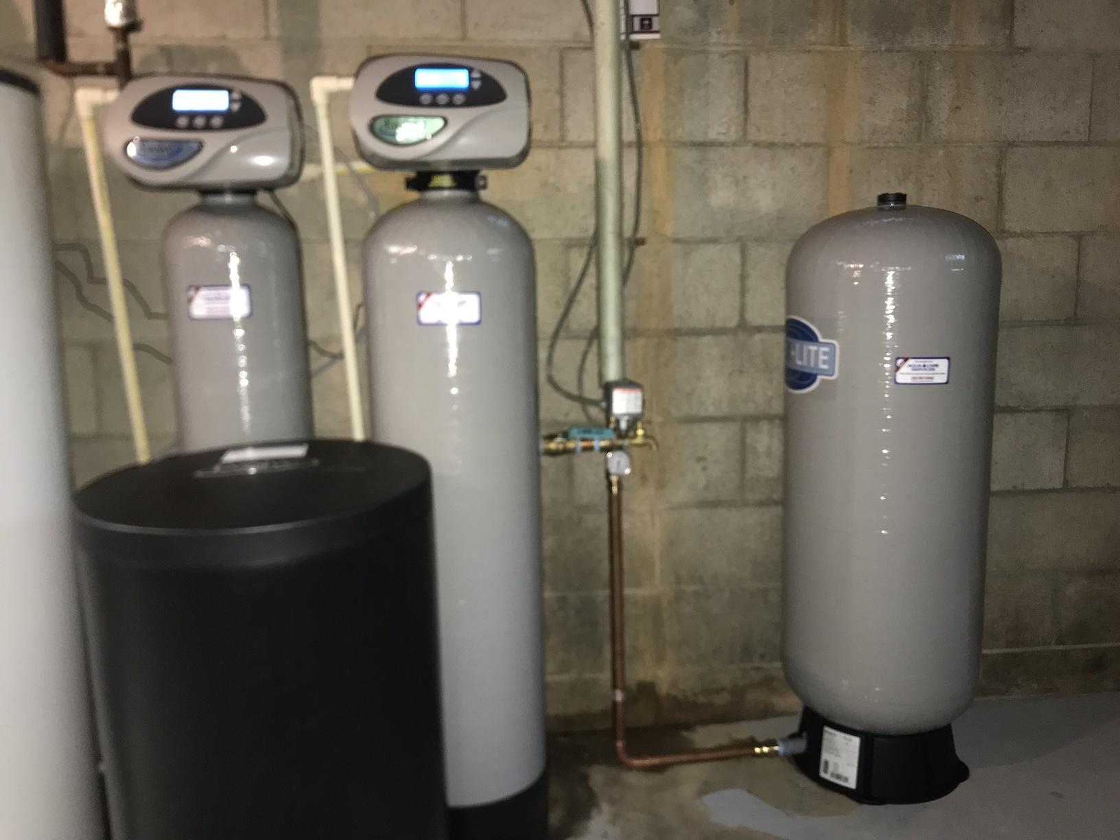 Softeners & Pressure Tank