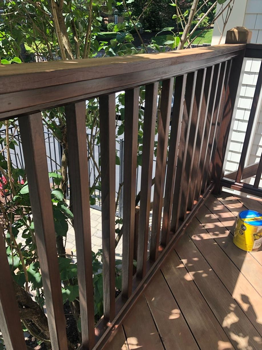 Deck Staining in Middletown, CT