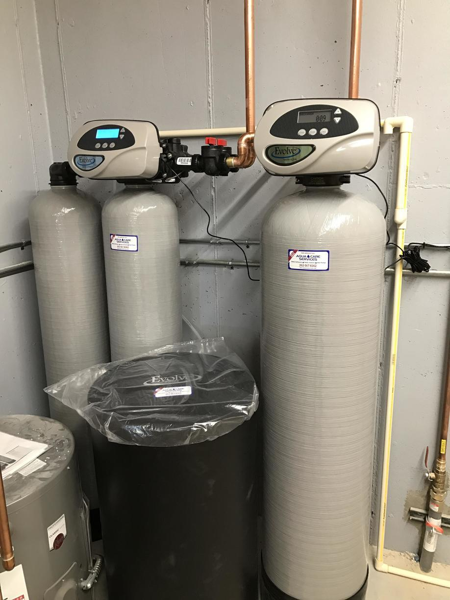 Twin Alternating Softener and Iron/Odor Filter
