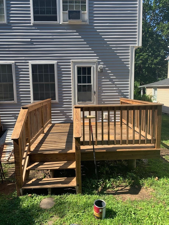 Deck Staining in Hamden, CT