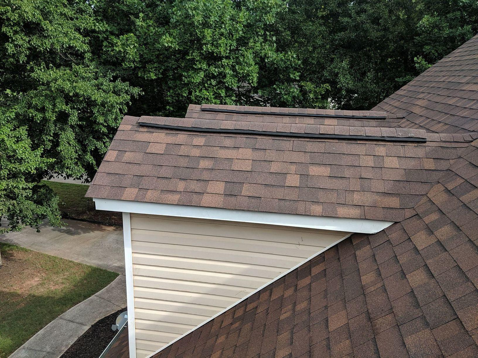 After: Top of Roof