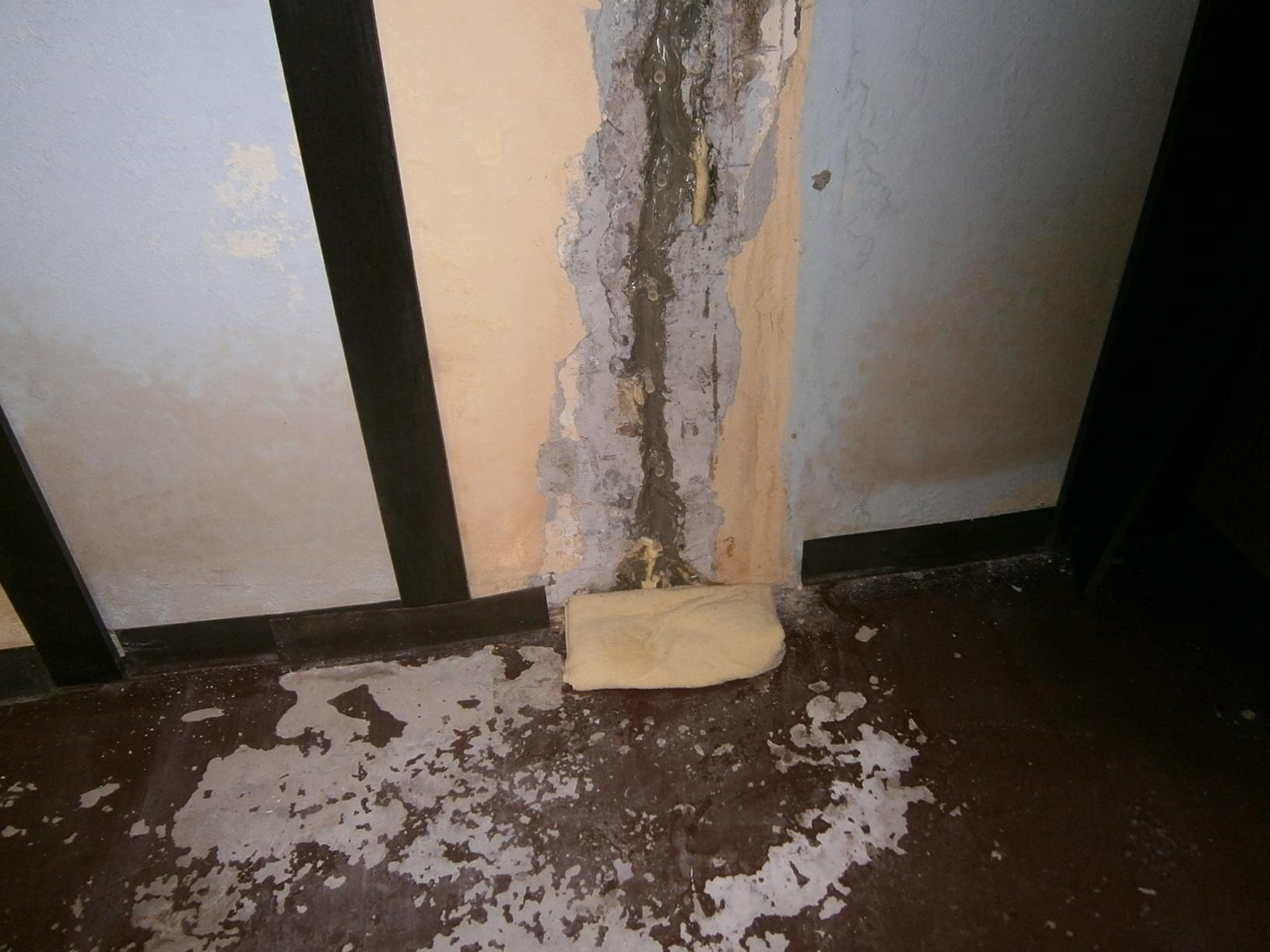 Severely Cracked Wall in Terryville CT