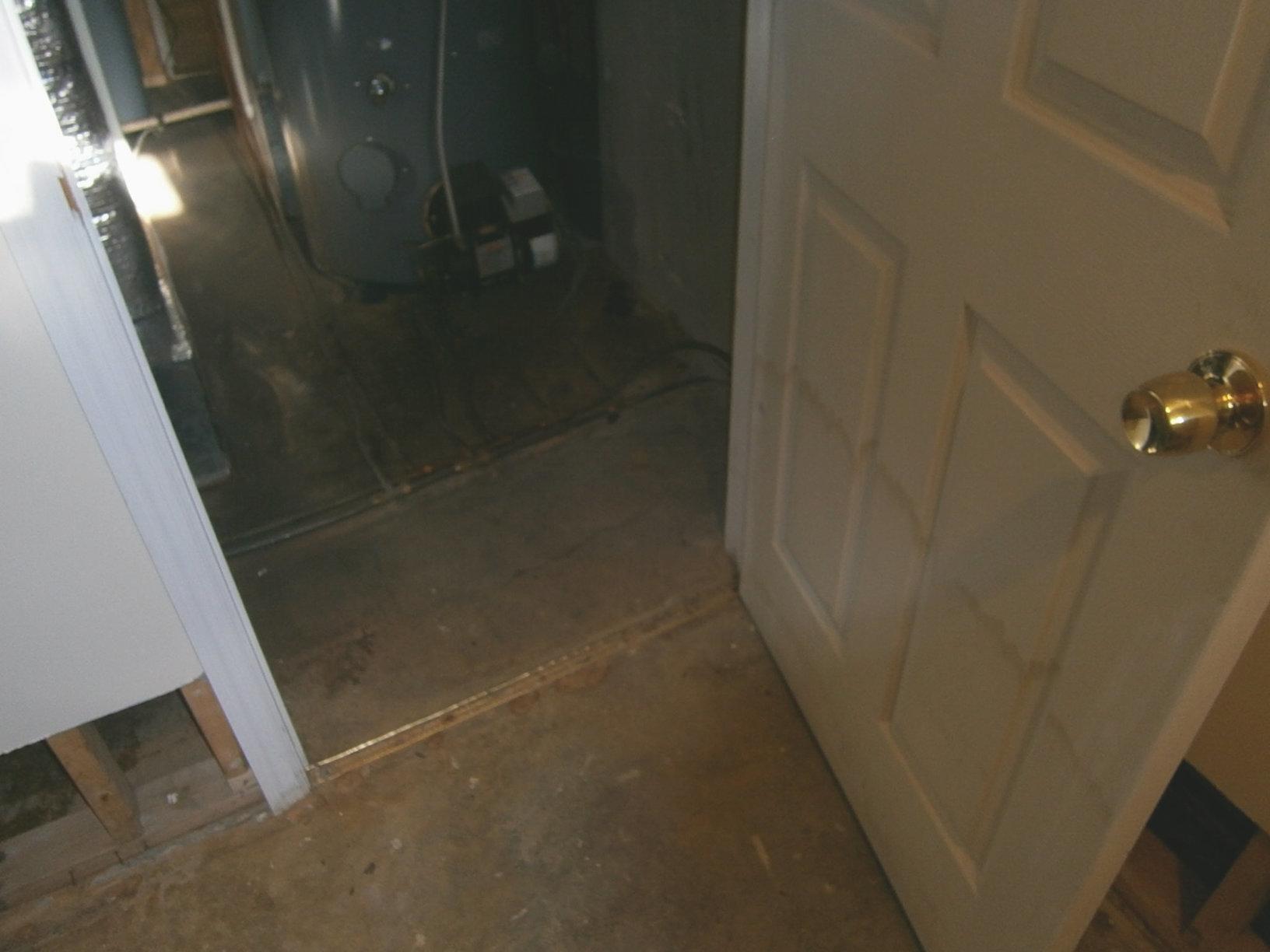 Wet Doorway in Purchase, NY
