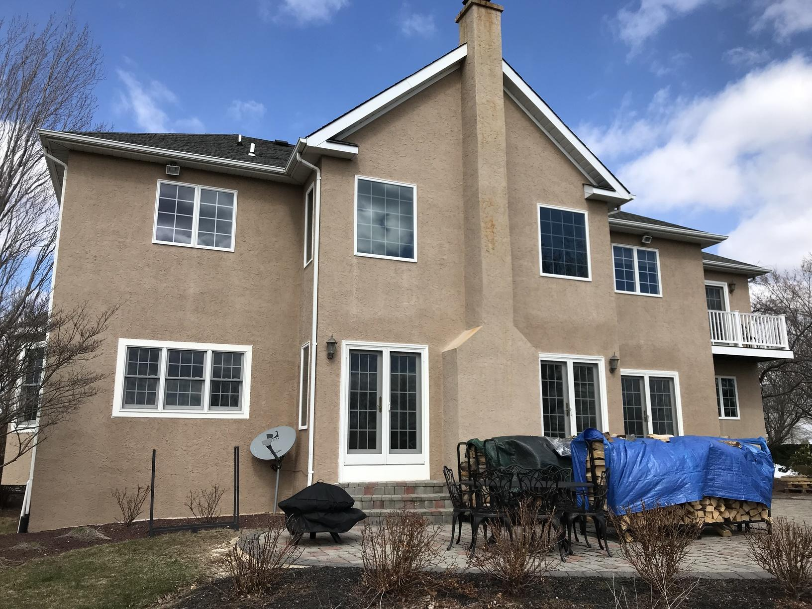 Replacing Rotting Stucco in Newtown, PA