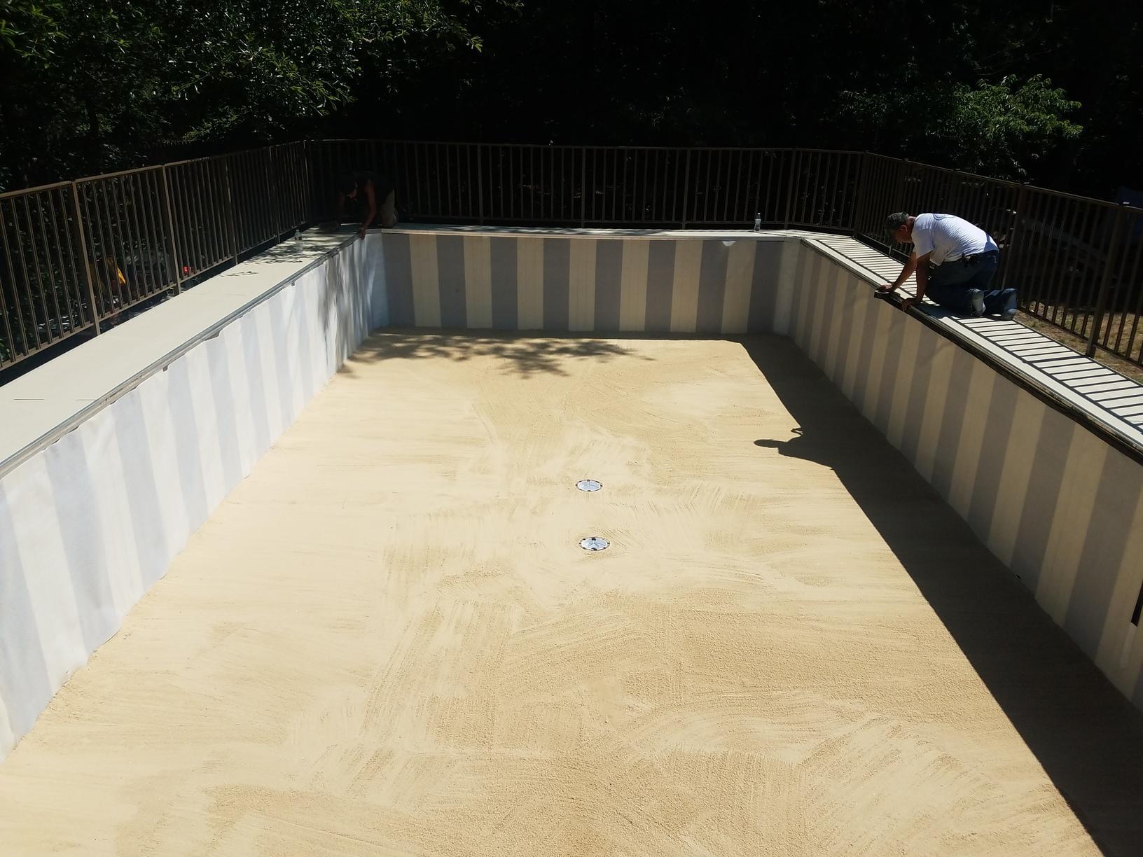 Wilkes Pool Installation in Lakewood, NJ