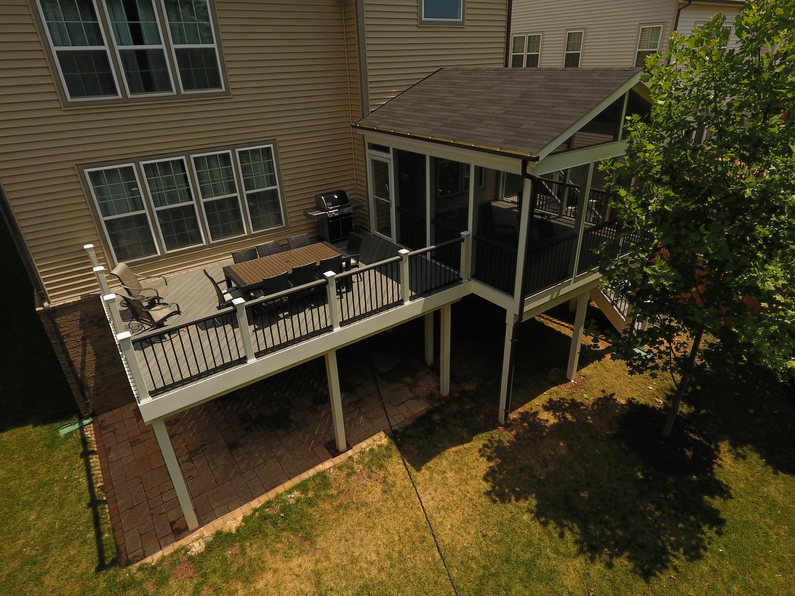 Modern Deck and Porch Installation in Ashburn, Va