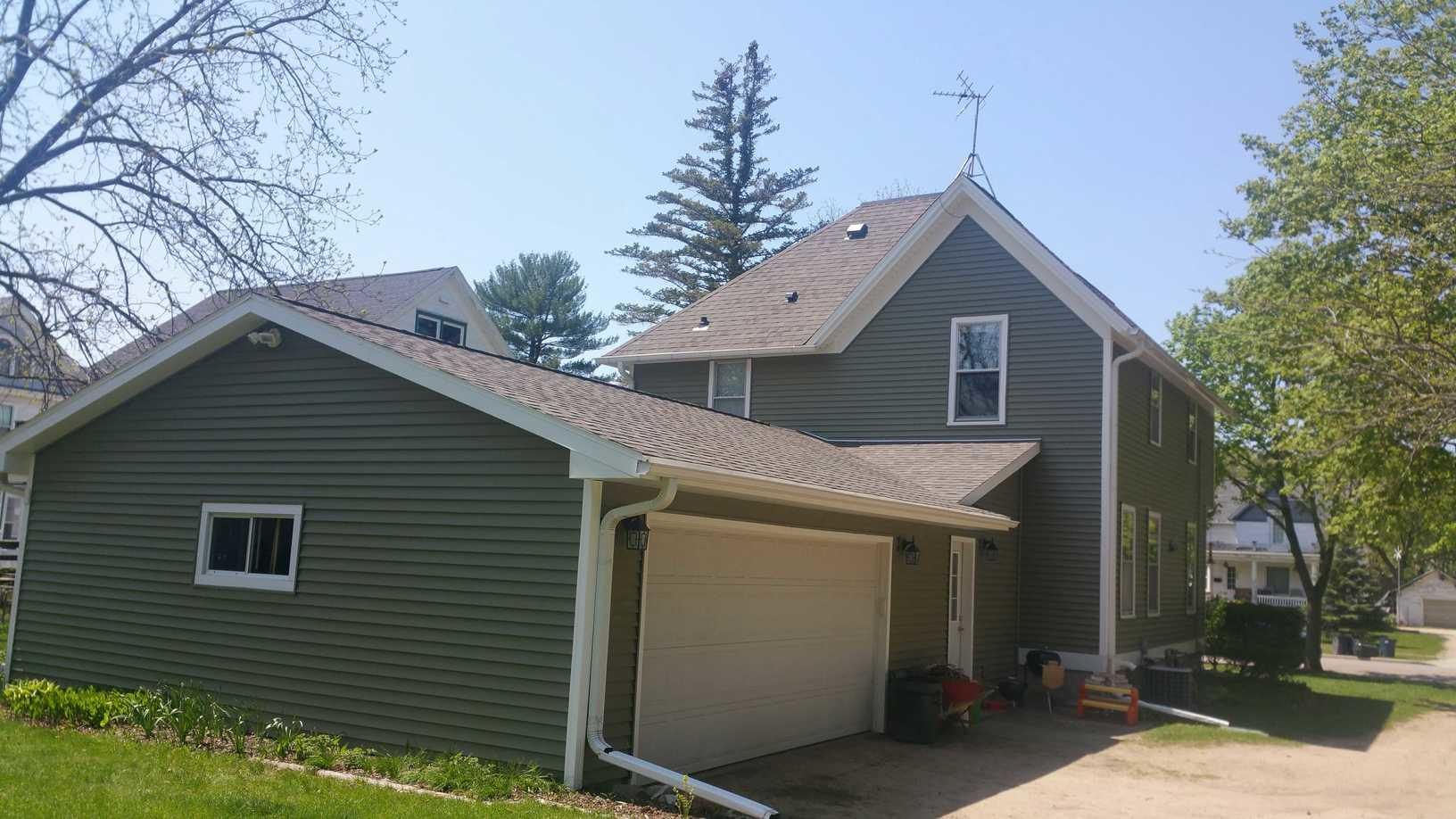 Siding New Roof Amp Siding In Prairie Du Sac Wi After Photo
