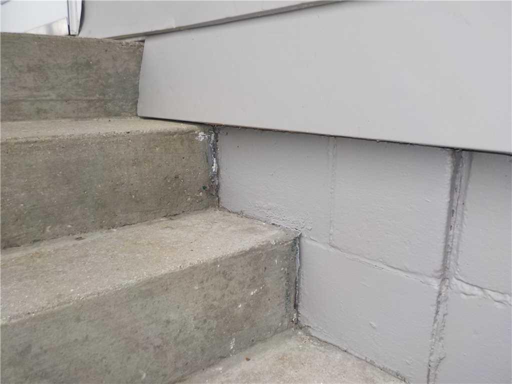 Porch Cracks