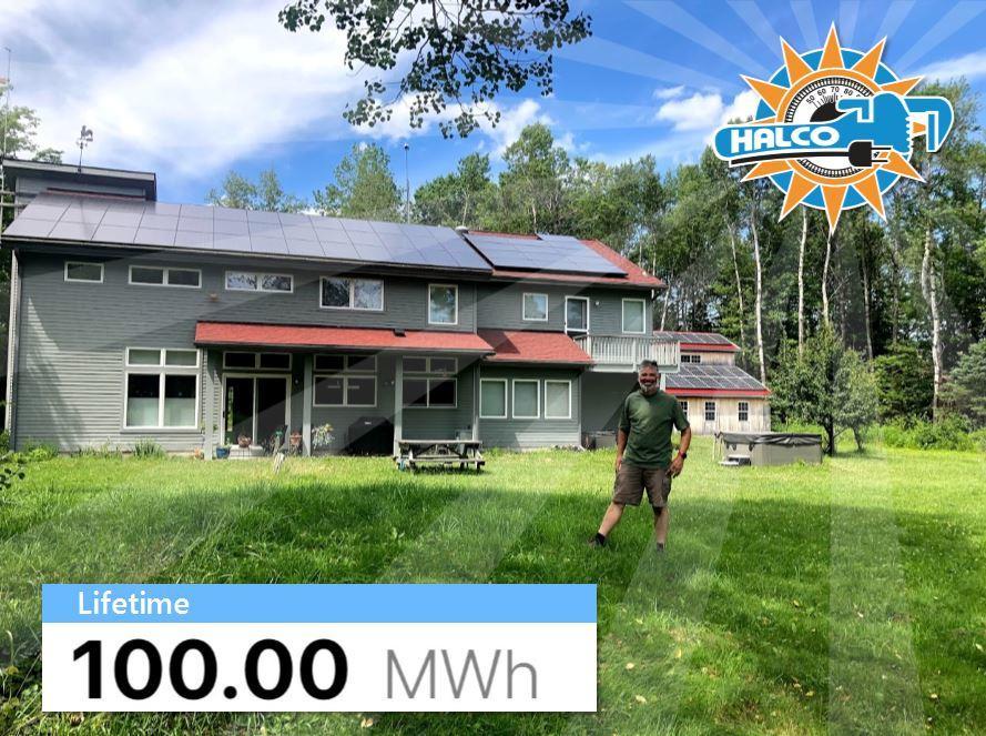 Ithaca, NY Solar Customer Hits 100 MWh!