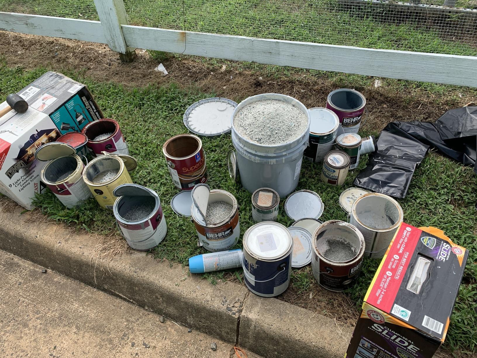 Proper Disposal of Paint in Warrenton, VA