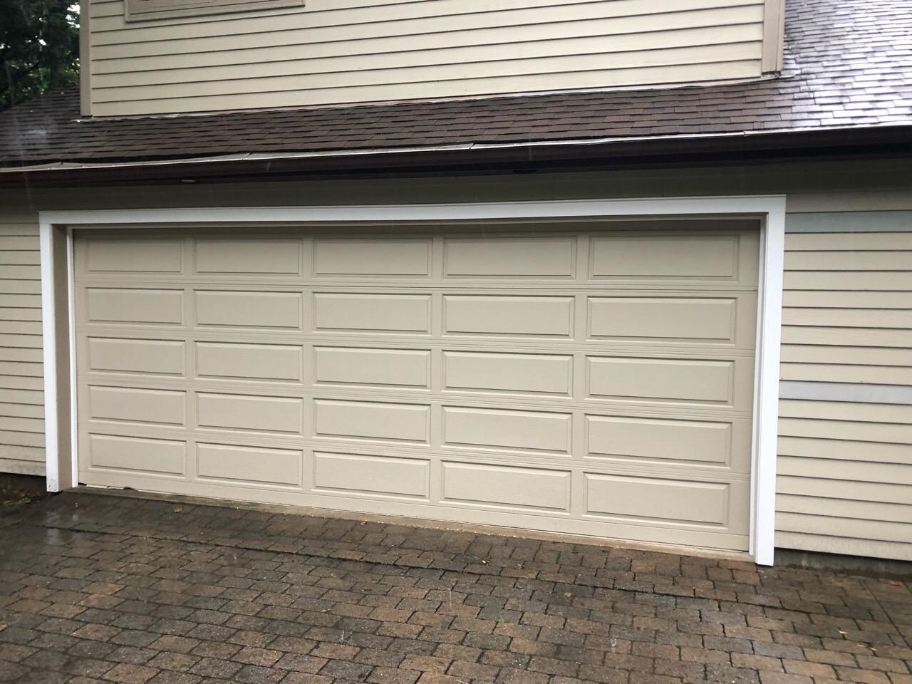 New Look for Garage Door