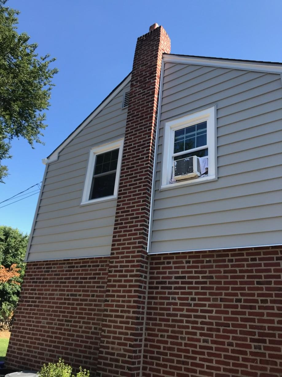 Infinity Double Hung Windows with White Exterior
