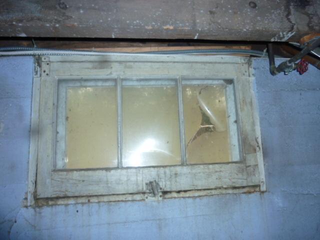 Old Wooden Window in Hebron, CT