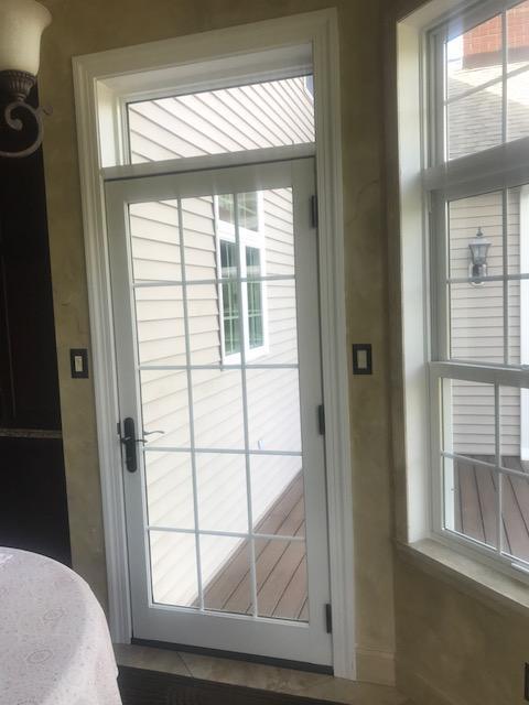 Interior Shot of Infinity Fiberglass Patio Door