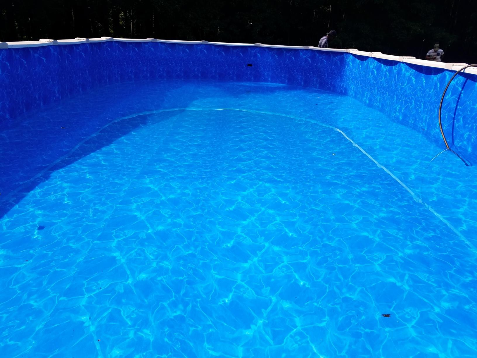 Completed Brand New Pool!