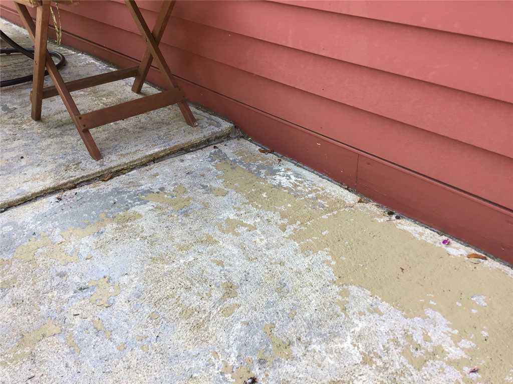 Uneven Concrete Patio in Paxton, MA
