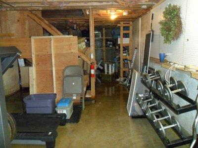 Flooded Basement in North Stonington, CT
