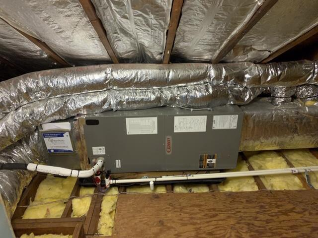 3 Ton Air Handler and Condenser Install in New Providence, NJ