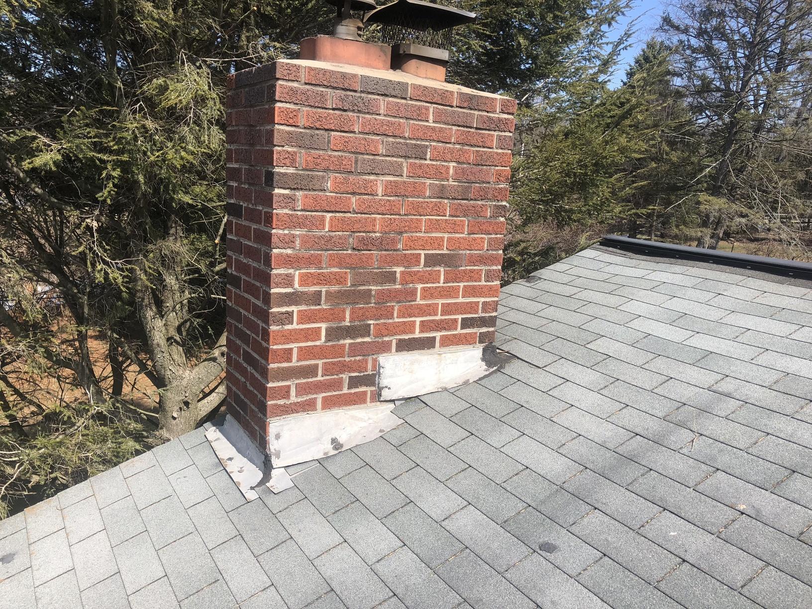 Replacing Chimney Flashing