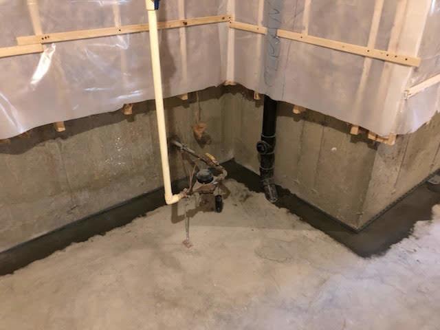 WaterGuard Waterproofs Basement in Longmeadow, MA
