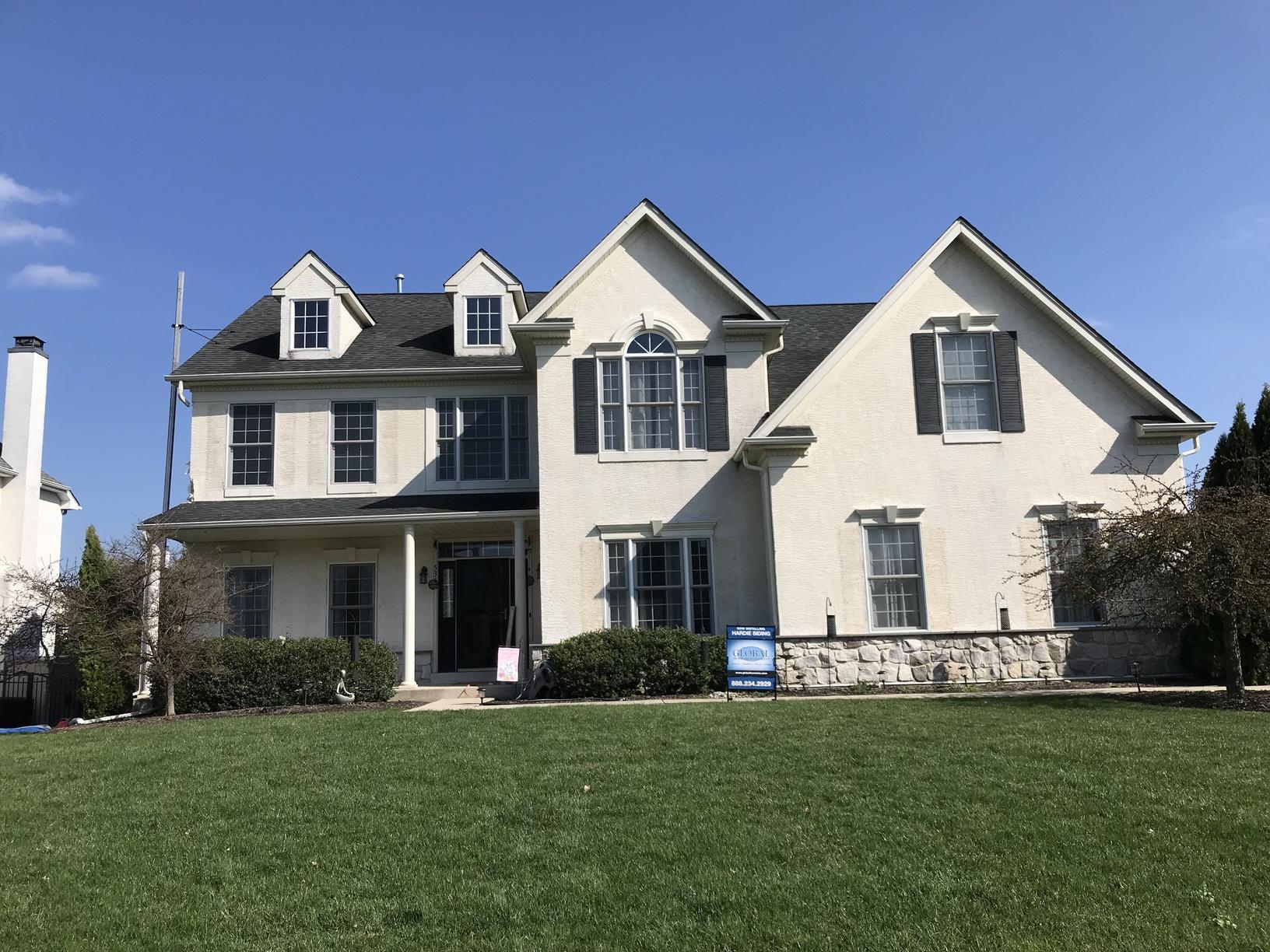 Replacing Stucco Siding on Home in Warrington, PA