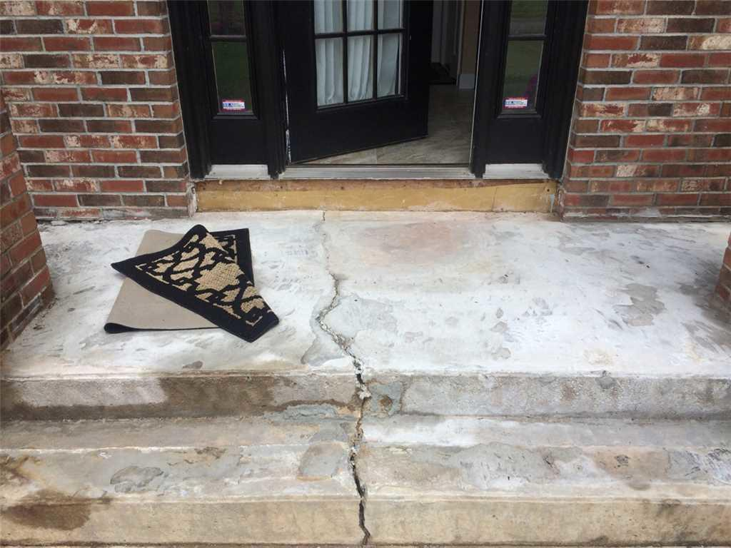 Concrete Crack in Westfield, MA