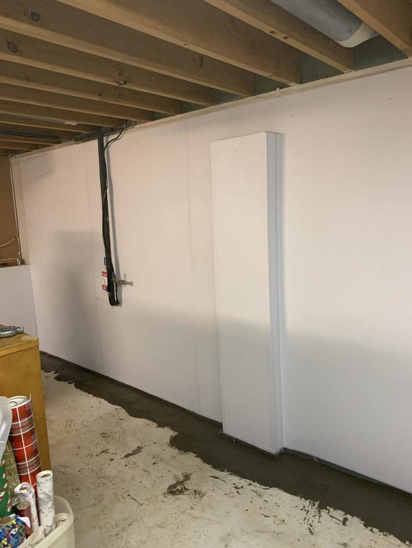 WaterGuard Basement Waterproofing System.