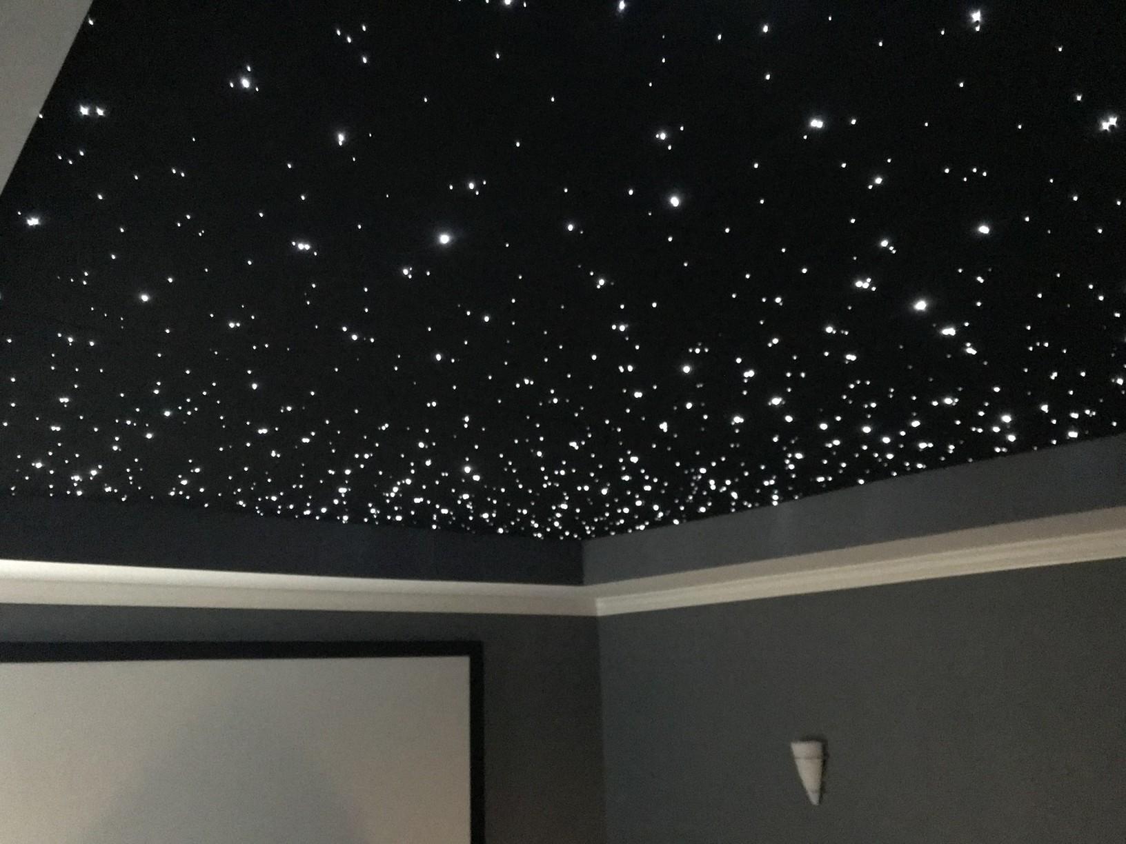 Finished Optical Ceiling