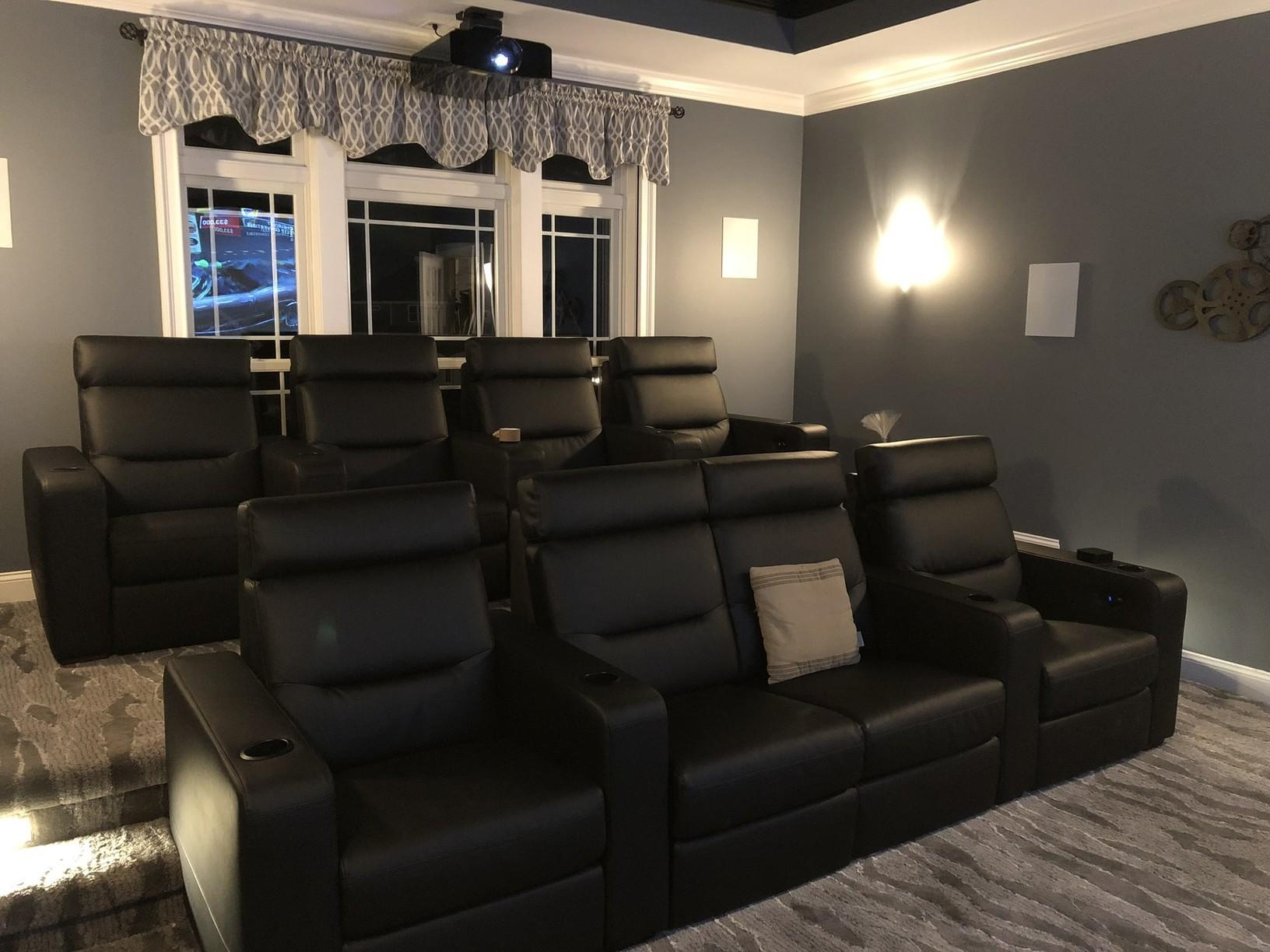 Completed Theater Room