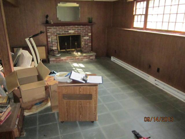 Basement Fireplace in North Franklin, CT