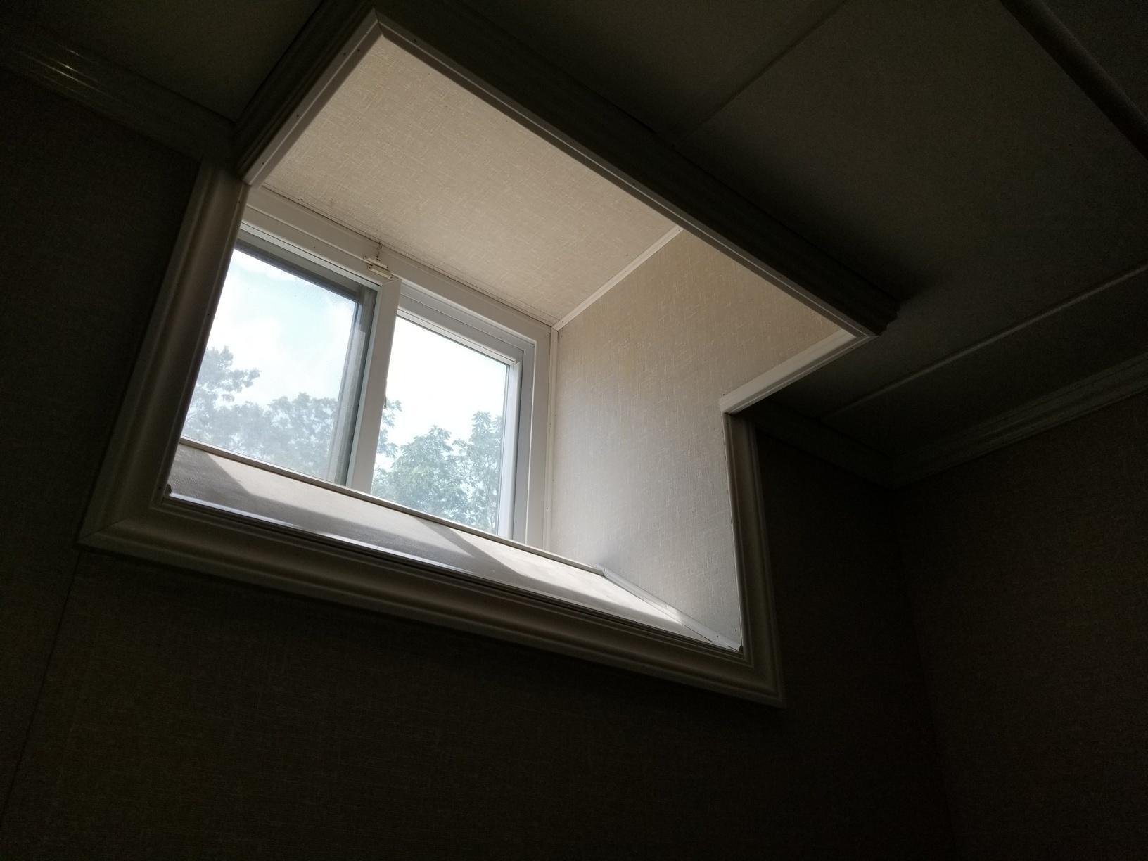 Window all boxed out