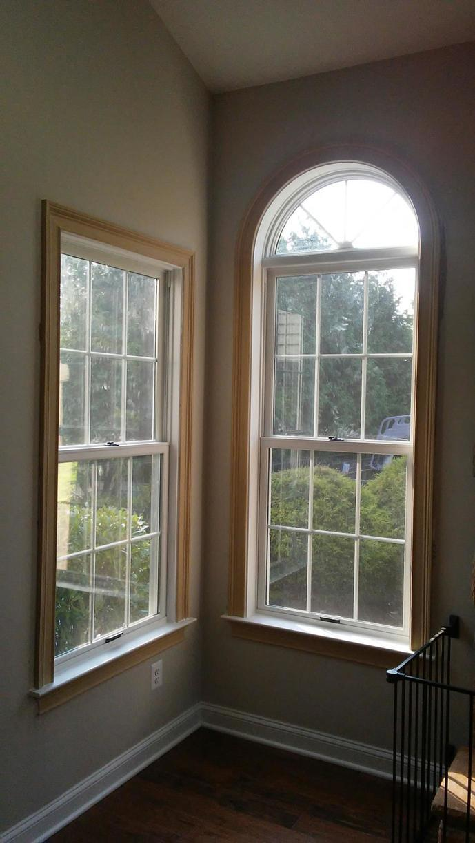 Marvin Infinity Windows with White Interior Finish