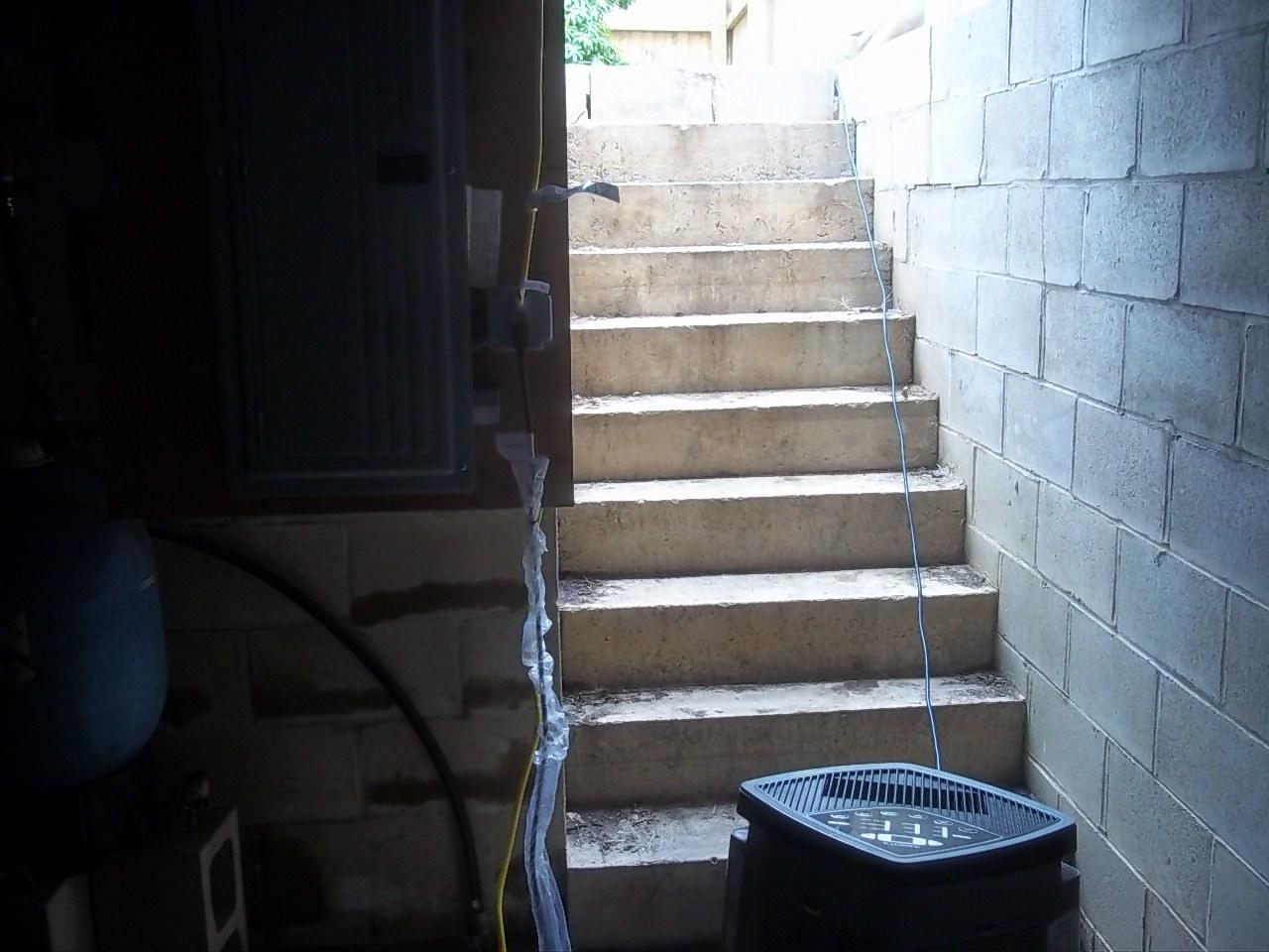 Outside Staircase in South Lyme, CT